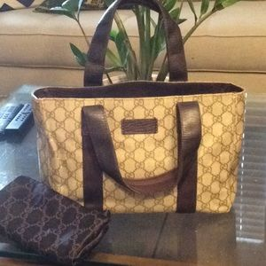 Authentic Gucci handbag with dust bag